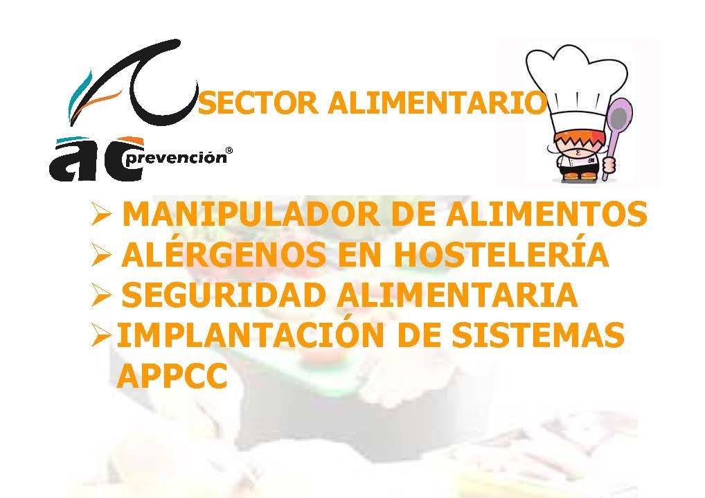 Consulte fechas ac prevenci n - Carnet de manipulador de alimentos homologado ...
