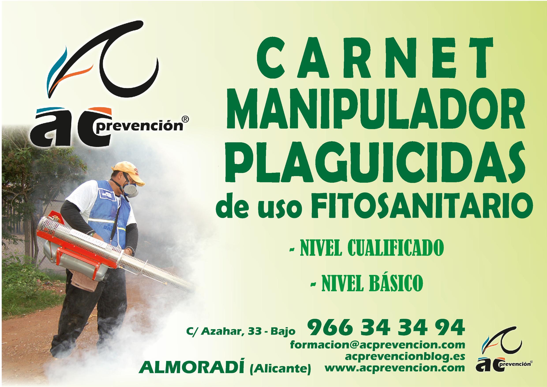 cartel curso AC  - cursos fitosanitarios