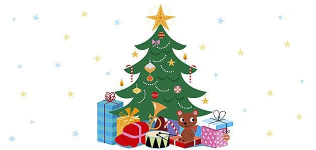 Seguridad con el rbol de navidad ac prevenci n - Originales arboles de navidad ...